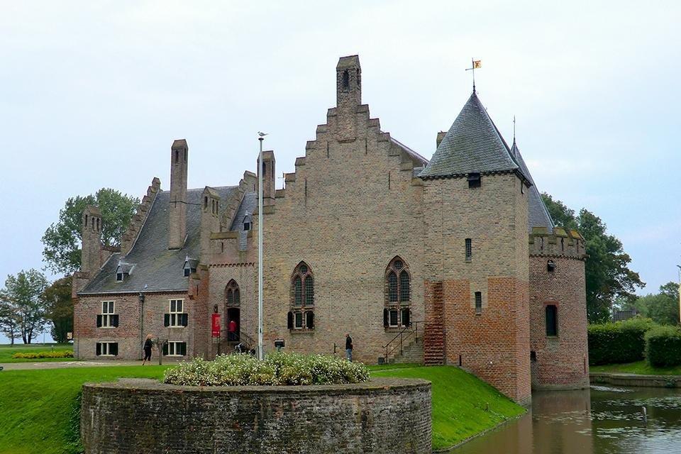 Kasteel Radboud in Medemblik, Nederland