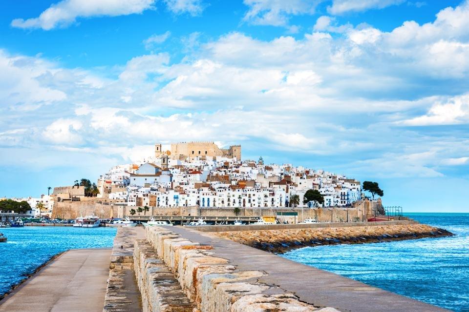Peñíscola in Spanje