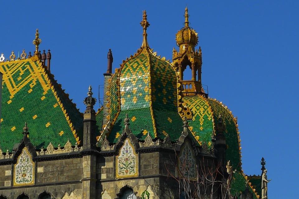 Museum voor toegepaste kunst in Boedapest, Hongarije
