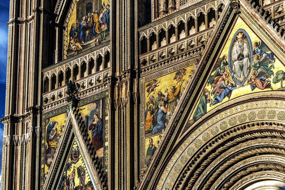 Duomo van Orvieto, Italië