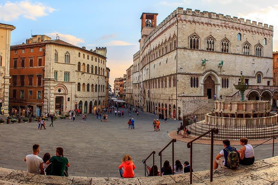 Perugia, Umbrië, Italië