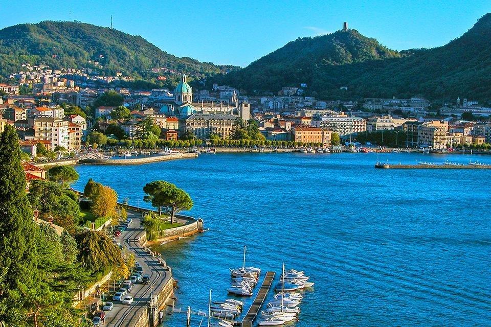 Como, Lago di Como, Italië