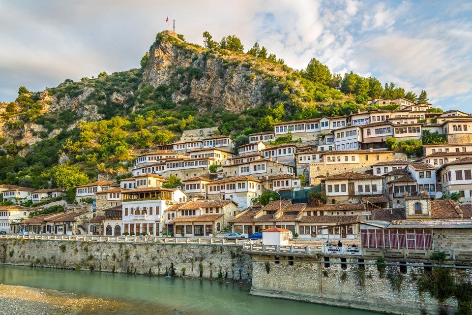 Berat in Albanië