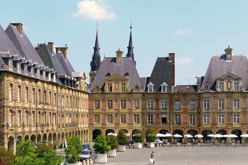 Place Ducale, Charleville, Frankrijk