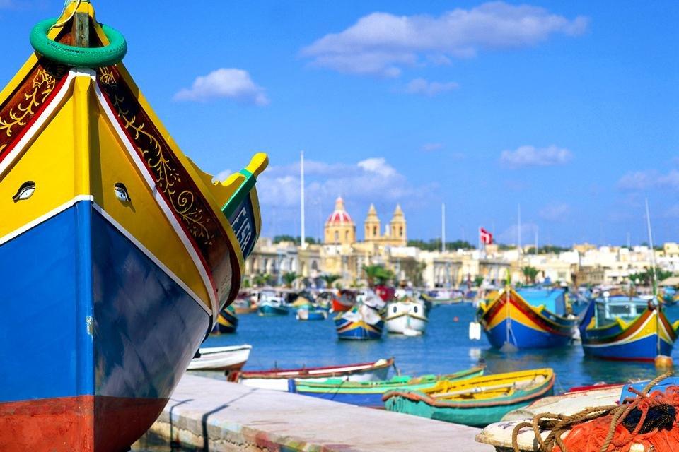 Haven van Marsaxlokk, Malta