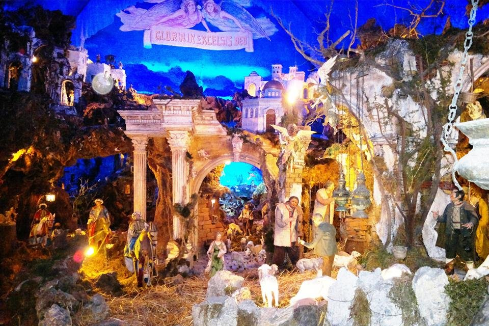 Kerststal van Gragnano, Italië