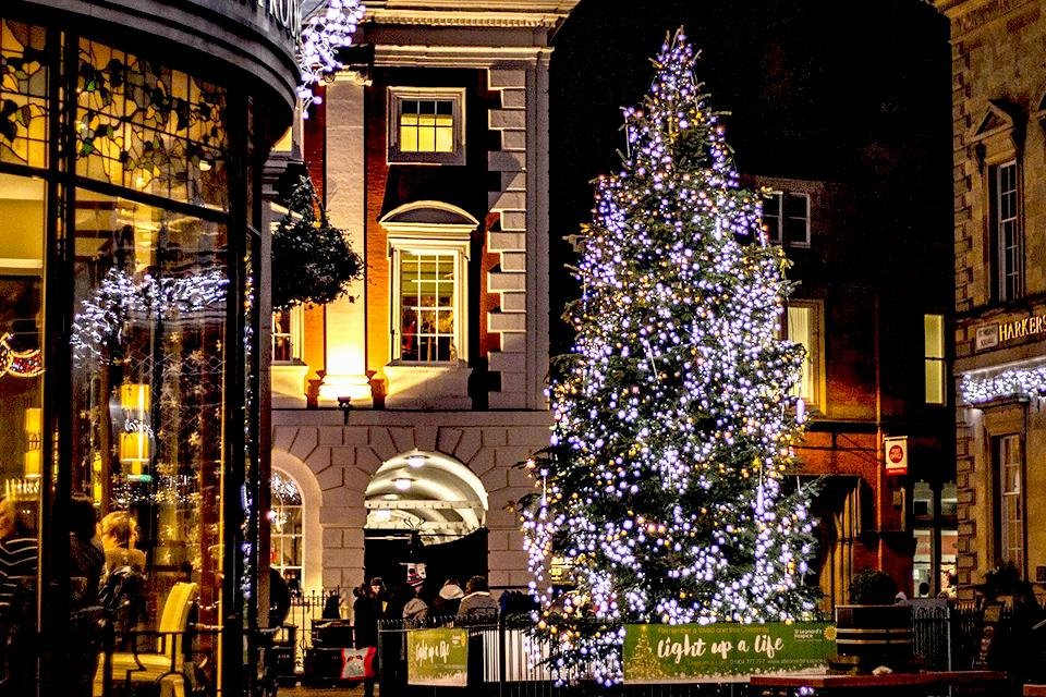 Kerst in York, Groot-Brittannië