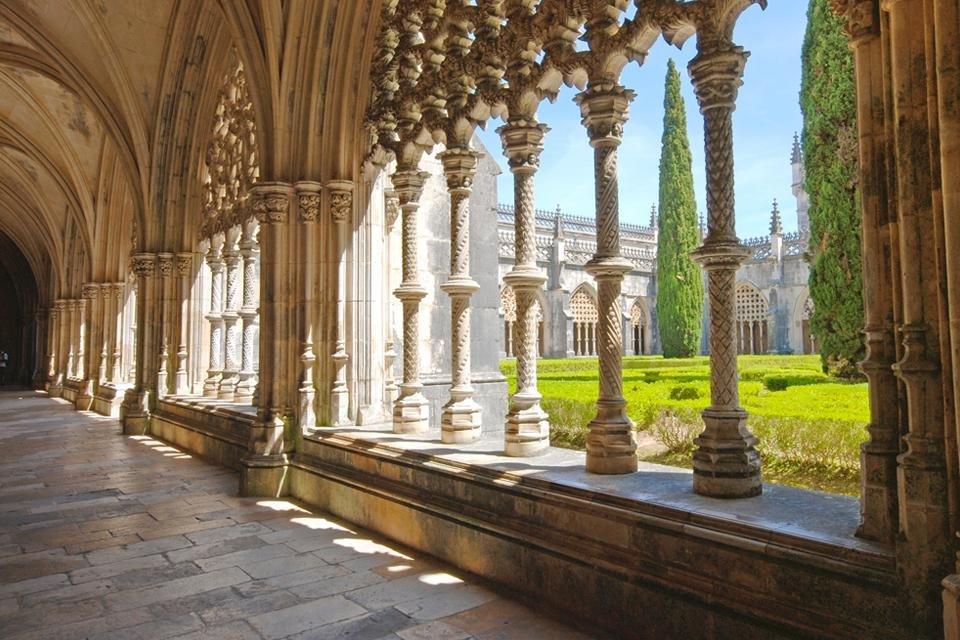 Kloosterhof van Batalha, Portugal
