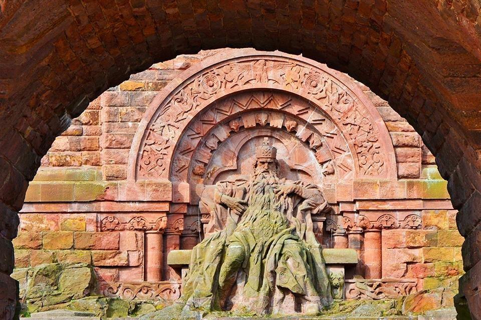 Kyffhäuser Denkmal, Duitsland