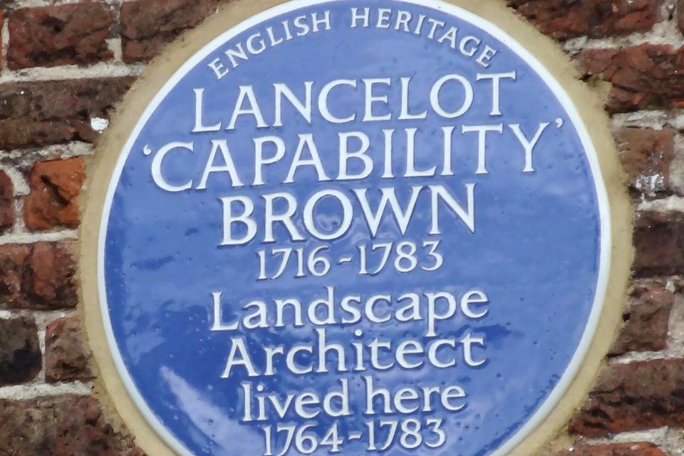 Lancelot Brown in Hampton Court Palace, Groot-Brittannië
