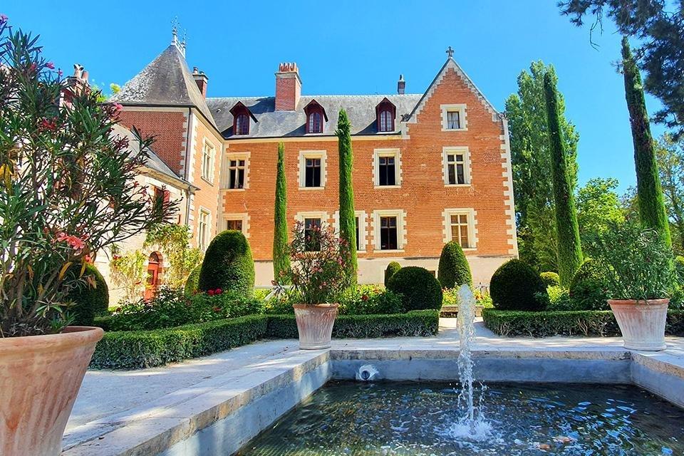 Manoir du Clos Lucé, Amboise, Loire, Frankrijk