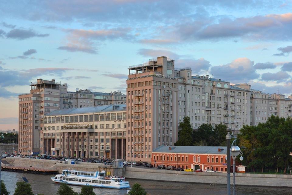 Huis aan de Kade in Moskou, Rusland