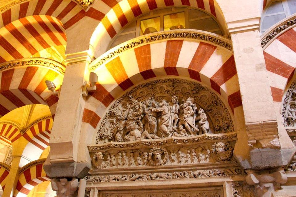 Mezquita in Cordóba, Andalusië, Spanje