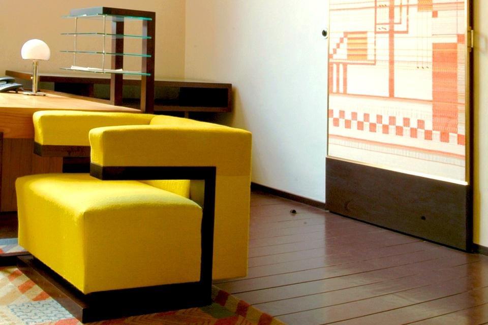 Bauhaus-interieur in Duitsland