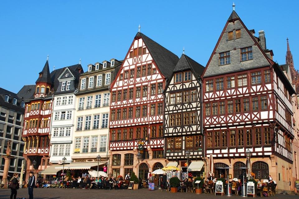 Historisch centrum van Frankfurt, Duitsland