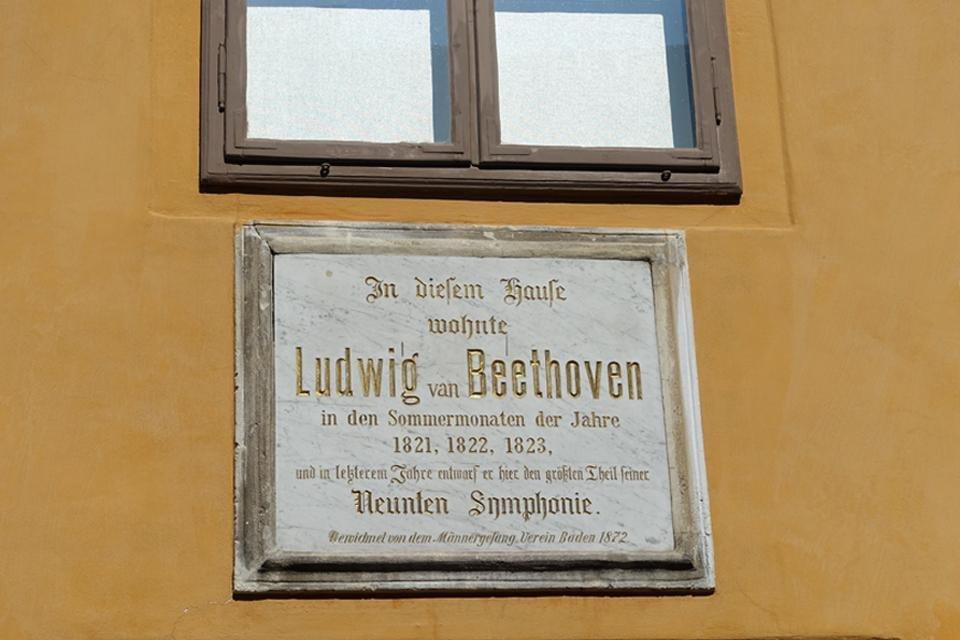 Beethovenhaus in Baden in Oostenrijk