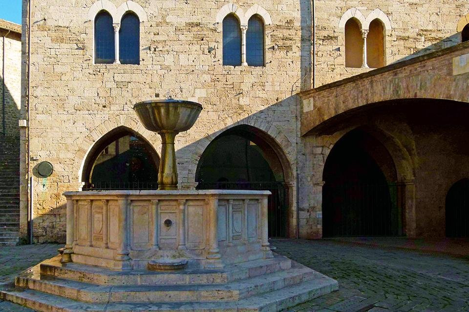 Bevagna, Umbrië, Italië