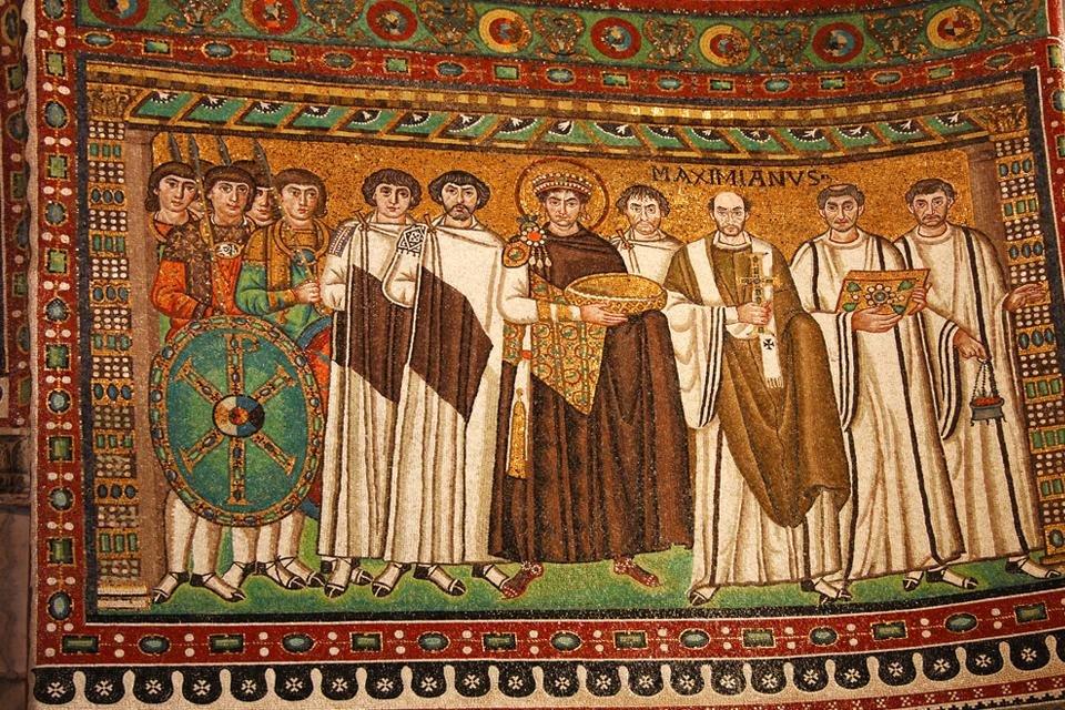San Vitale in Ravenna, Italië