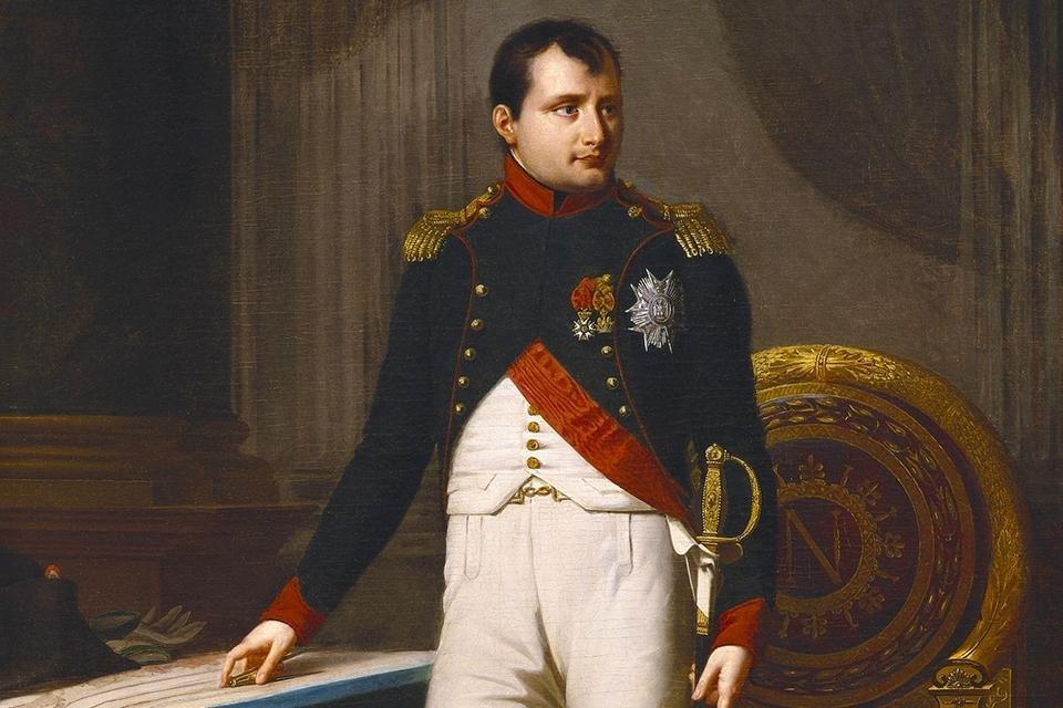 Napoleon Bonaparte door Robert Lefevre