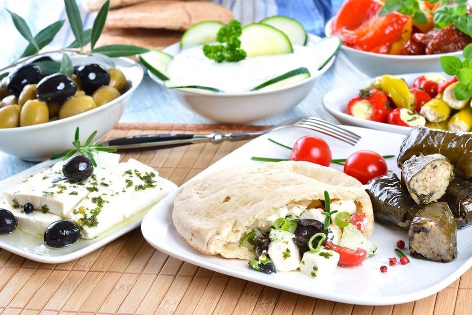Griekse keuken, Griekenland