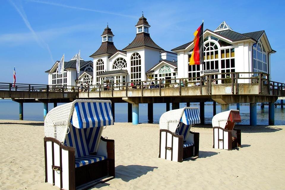 Strandbad Sellin, Rügen, Duitsland