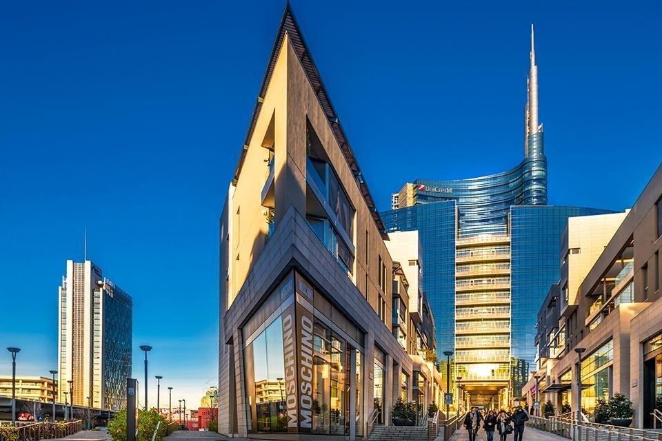 Porta Nuova, Milaan, Italië