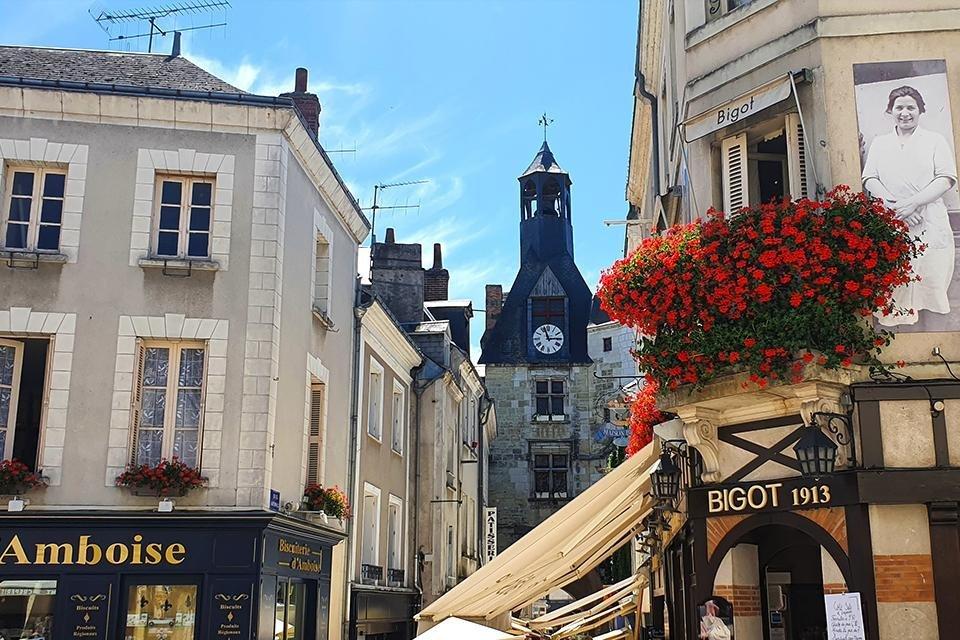 Tour de l'Horloge, Amboise, Loire, Frankrijk