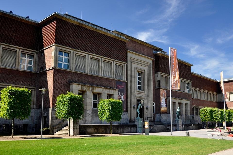 Kunstpalast in Düsseldorf, Duitsland