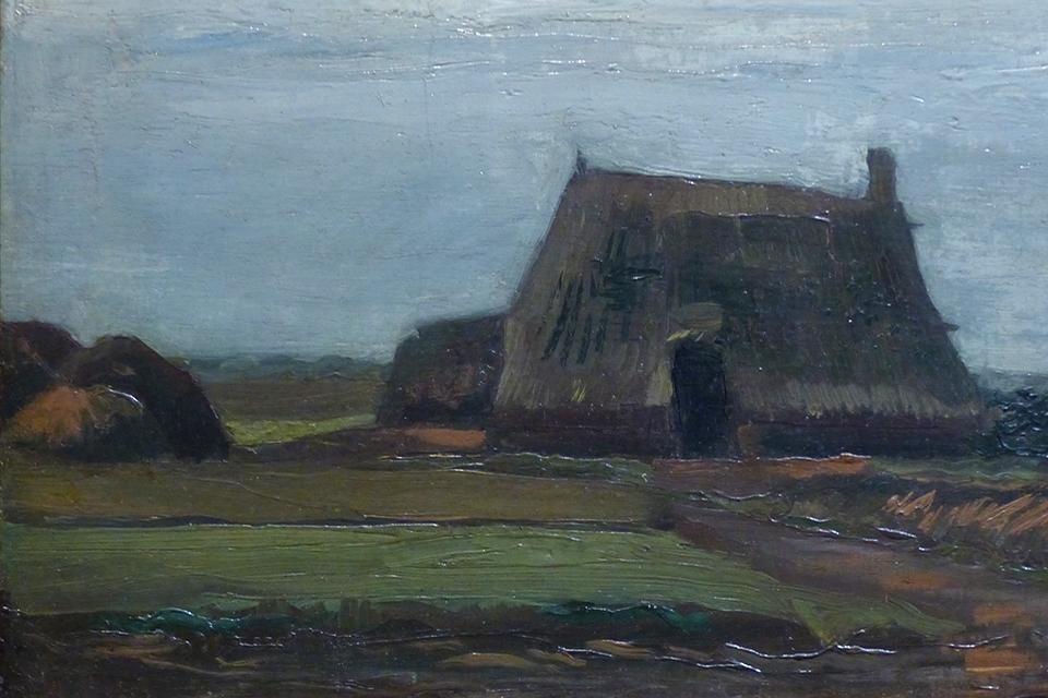 Huisje met turf, Vincent van Gogh | 1883