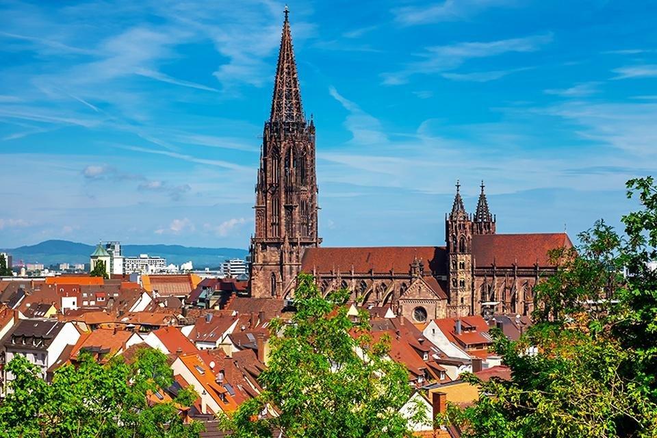 Freiburg, Zwarte Woud, Duitsland