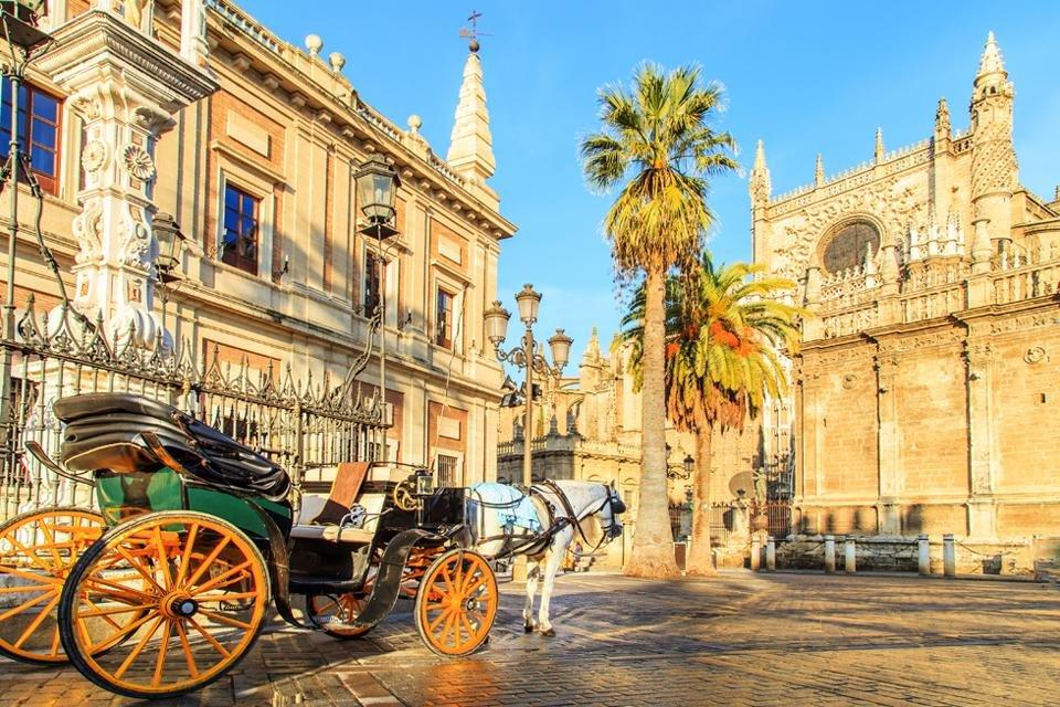 Kathedraal van Sevilla, Andalusië, Spanje
