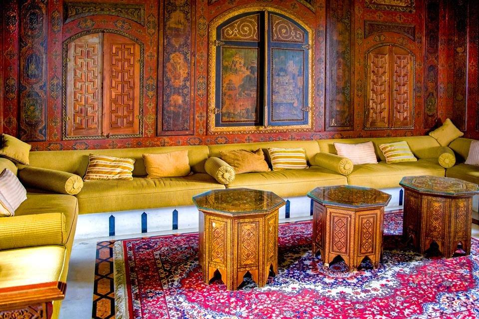 Beiteddine Palace in Libanon