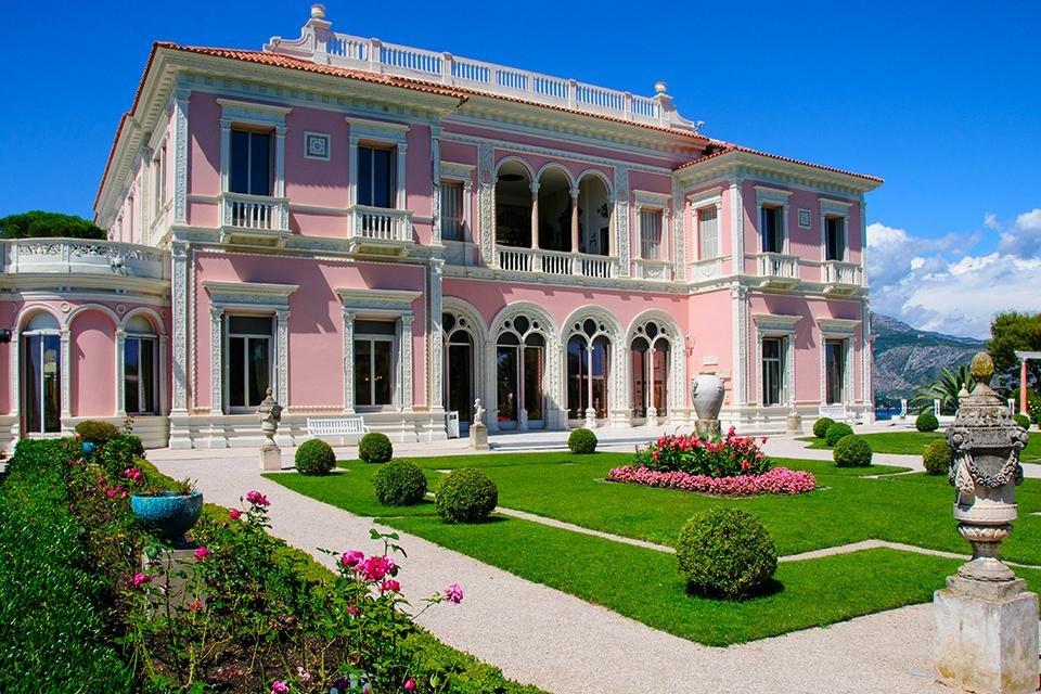 Villa Ephrussi-de-Rothschild in Cap Ferrat, Frankrijk