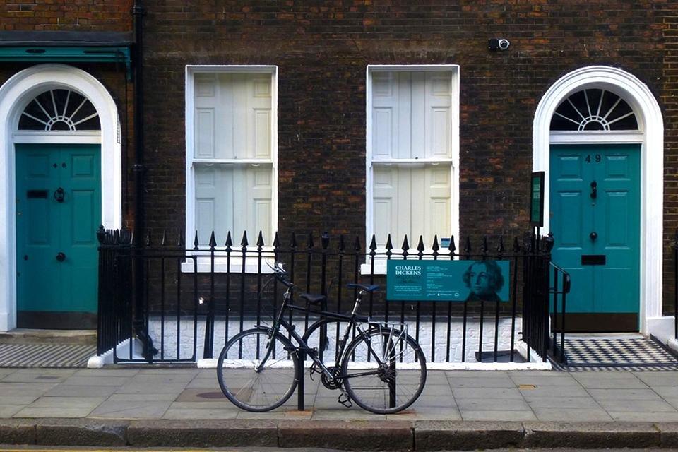 Charles Dickens Museum in Londen, Engeland