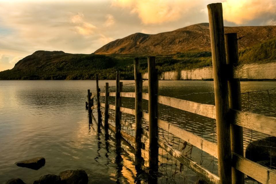 Ennerdale Water, Lake District, Cumbria, Groot-Brittannië