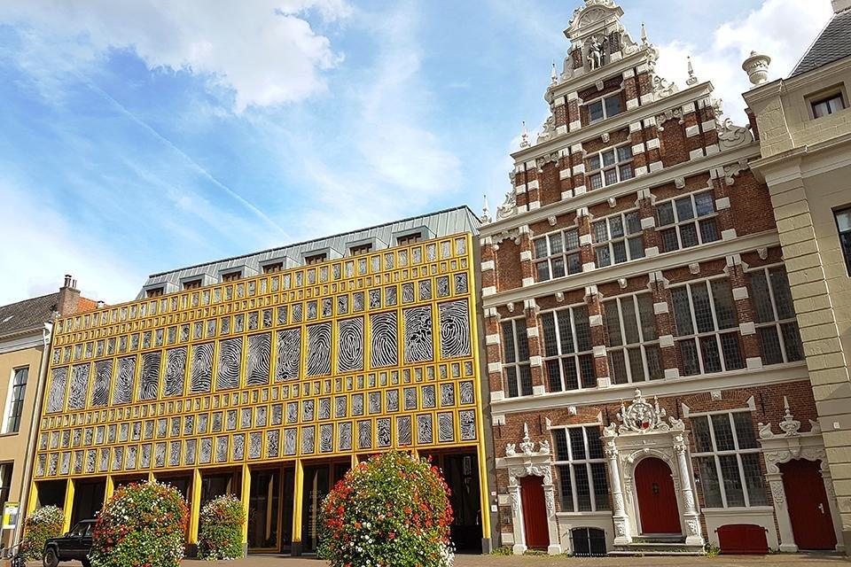 Stadhuis in Deventer, Nederland