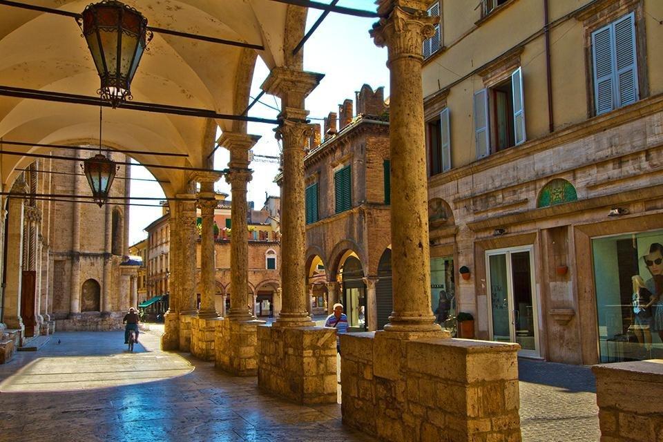 Ascoli Piceno, De Marken, Italië