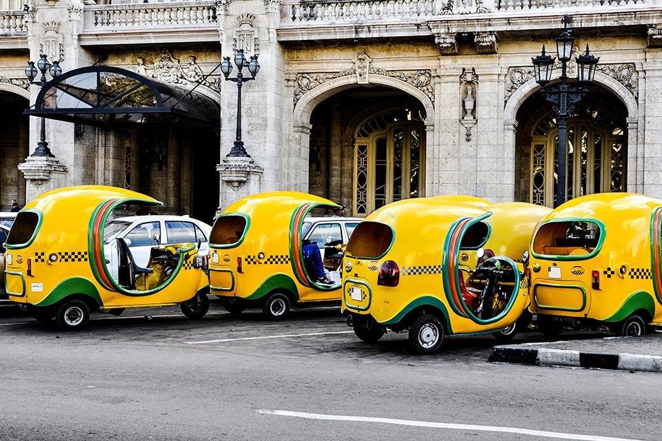 Taxi's in Havana, Cuba