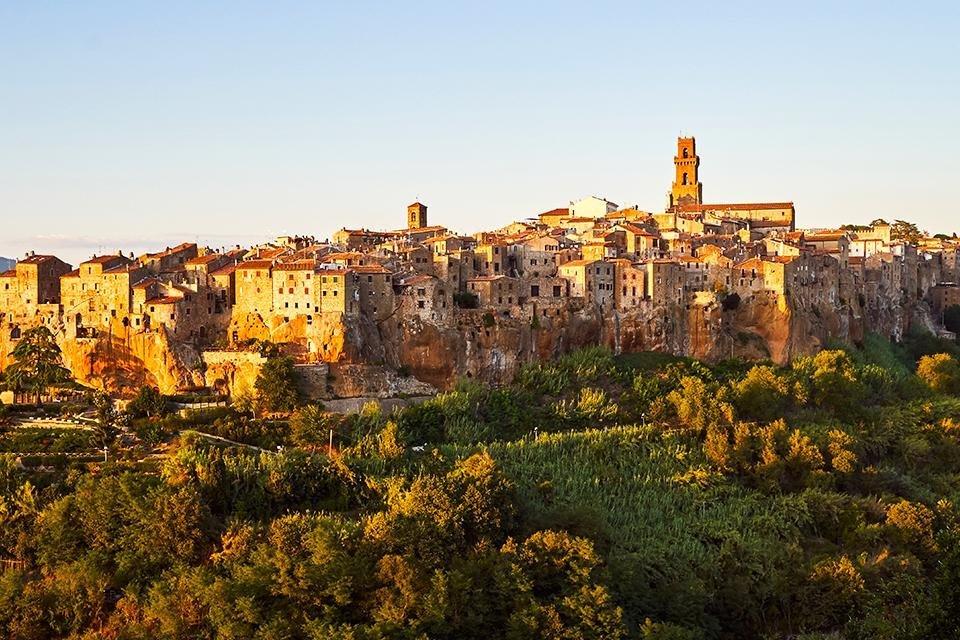 Pitigliano, Toscane, Italië