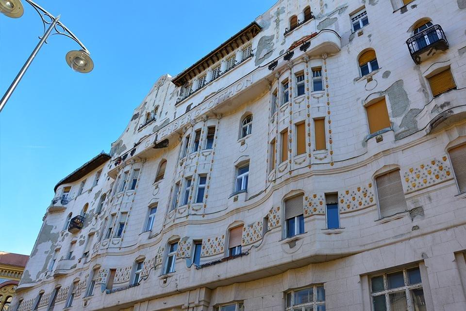 Gutenberg-otthon in Boedapest, Hongarije