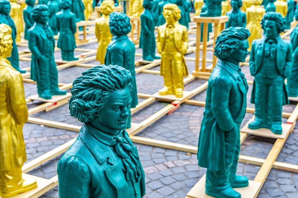 Beethoven in Bonn, Duitsland