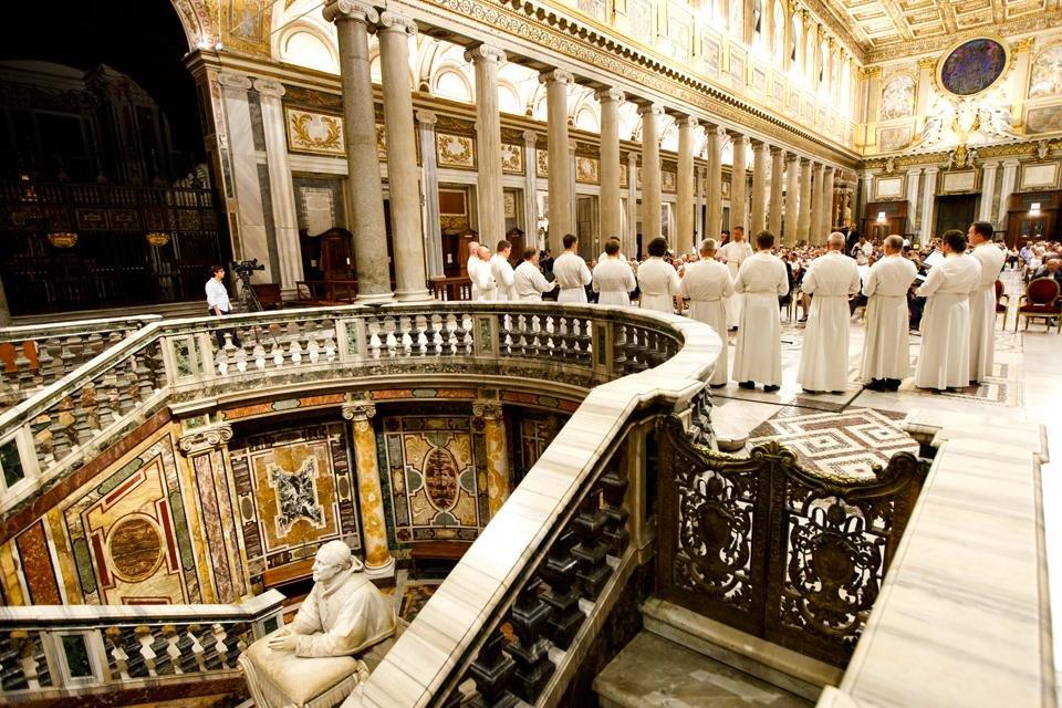 Rome Musica Sacra in Santa Maria Maggiore © Fondazione pro Musica e Arte Sacra