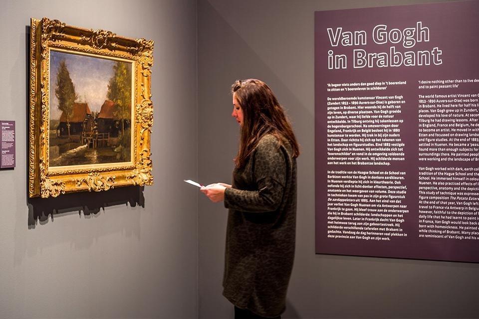Vincent van Gogh Paviljoen in Het Noordbrabants Museum, Den Bosch | Foto Joep Jacobs