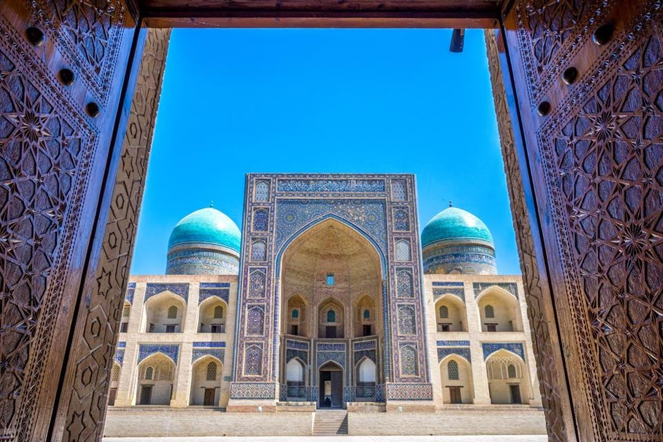 Mir-i-Arab Madrasa in Bukhara