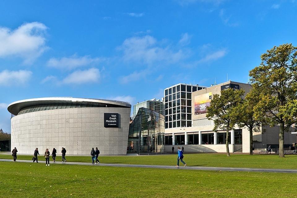 Van Gogh Museum in Amsterdam, Nederland