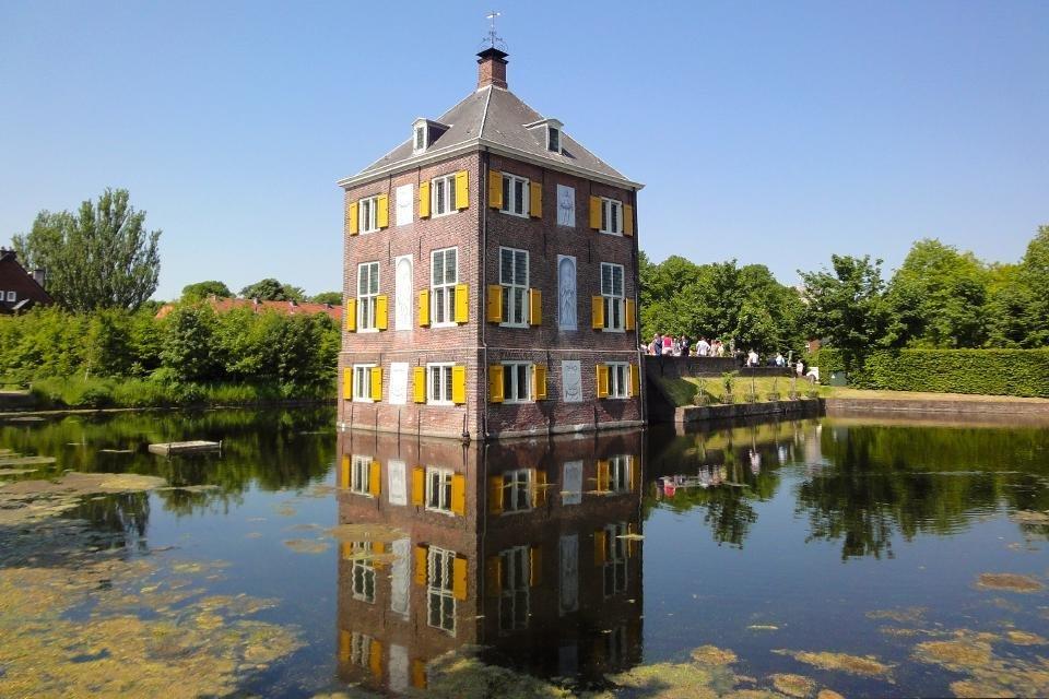Buitenplaats Huygens' Hofwijck in Voorburg, Nederland