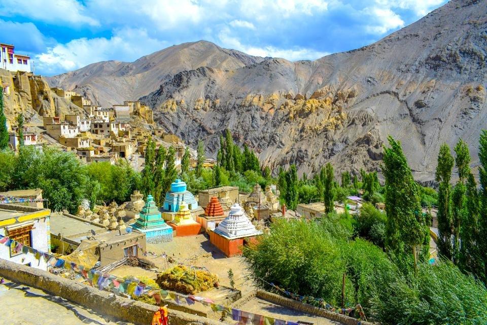 Lamayuru-klooster bij Leh in India