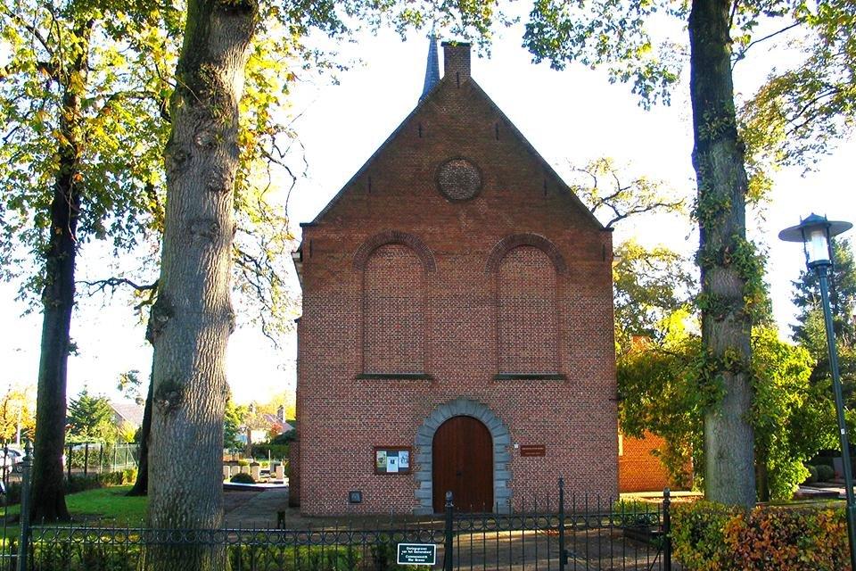 Kerkje in Zundert, Nederland