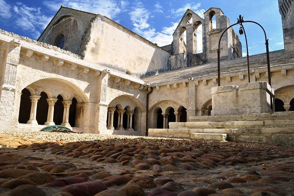Abbay de Montmajour, Frankrijk