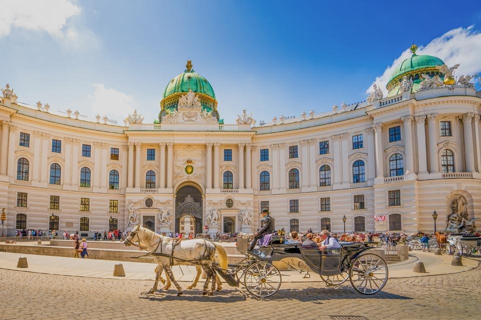 Hofburg in Wenen, Oostenrijk